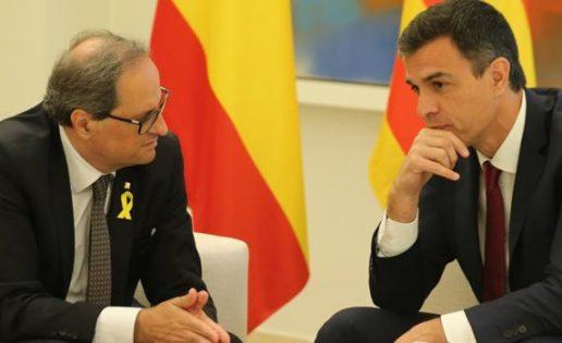 Torra, Pedro Sánchez y el terrorismo en Cataluña