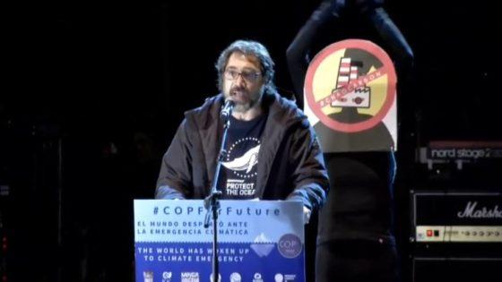 """El """"estúpido"""" de Bardem a Almeida se carga la Cumbre del Clima"""
