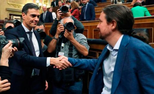 Un Gobierno PSOE, PP y Cs, sin Sánchez ni Iglesias, y el apoyo de Vox