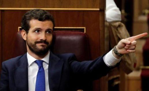 Pablo Casado debe decir NO, ante el chantaje de Sánchez