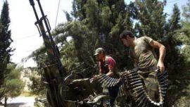 Armas para los rebeldes sirios