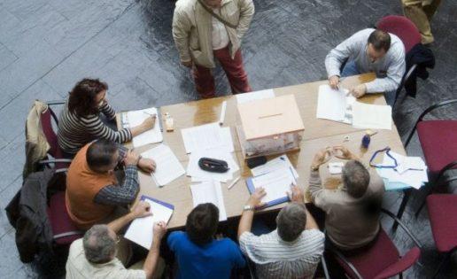 La pena de no ser miembro de una mesa electoral