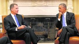 Obama llega a España tarde y mal