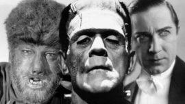 Frankenstein, Drácula y el Hombre Lobo