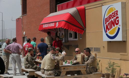 "Kabul (I): Bienvenidos a base ""Burger King"""