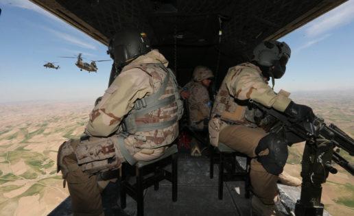 Herat (III): Desembarco aéreo en las montañas del Sabzak