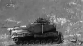 El tiro con misil Spike del «Tercio Viejo de Sicilia» 67