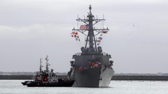 ¿Defenderán los destructores de EE.UU., con base en Rota, a Israel?