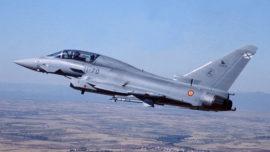 Los Eurofighter de Morón se preparan para Rumanía y el Mar Negro