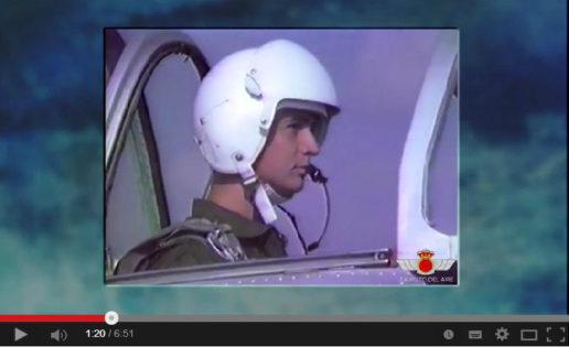 Vídeo: homenaje del Ejército del Aire al Rey Felipe VI