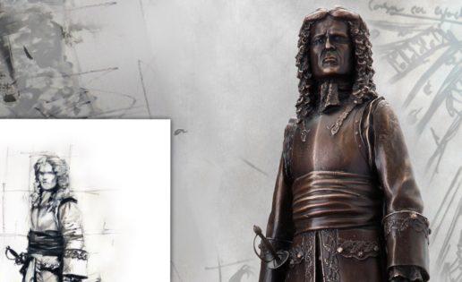 Ferrer-Dalmau dona una estatua de Blas de Lezo al Museo Naval
