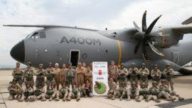 EADA: los primeros paracaidistas del avión A400M del Ejército del Aire