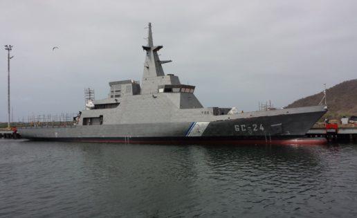 «Comandante Eterno Hugo Chávez», el último buque de Venezuela
