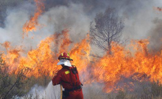 La UME estudia utilizar «drones» para supervisar los incendios