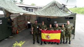 España tiene 1.736 militares desplegados en el exterior en doce misiones