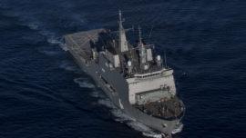 """El """"Castilla"""", el cuartel flotante español de la OTAN en 2015"""