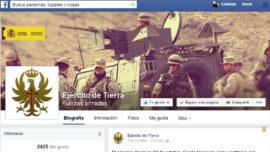 Ejército 2.0: ahora también en Facebook