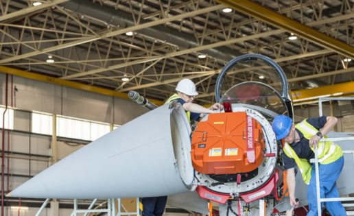Un nuevo radar para hacer imbatible al avión de combate Eurofighter