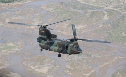Boeing modernizará los 17 helicópteros Chinook de España por 1.060 millones