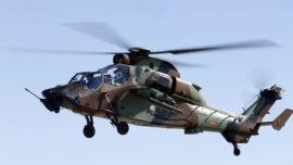 El Ejército presenta su «arma más potente»: el helicóptero de ataque Tigre HAD-E
