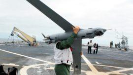 El dron Scan Eagle de la Armada Española desplegará en Irak a partir de octubre