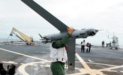 Vídeo: la Armada prueba con éxito su «drone» embarcado Scan Eagle