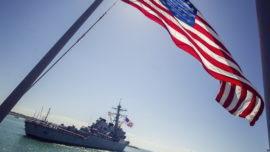 Llega a Rota el «USS Porter», el tercer destructor del «escudo antimisiles»