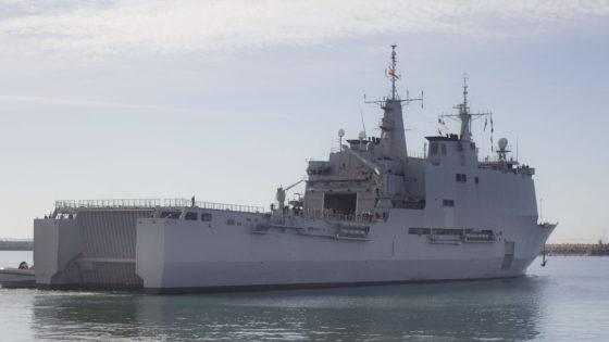 La Armada enviará el buque Galicia a Melilla para reforzar la capacidad hospitalaria