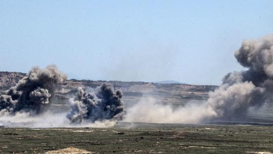 Vídeo: el Ejército del Aire prueba las bombas de sus aviones de combate