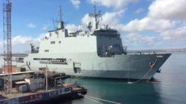 El buque «Galicia» asumirá el mando de la operación Atalanta durante cinco meses