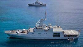 Colombia, primer país suramericano en enviar un buque de guerra contra la piratería en Somalia