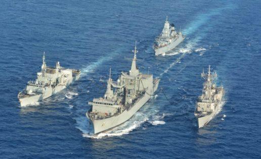 España, al frente por primera vez de la misión en el Mediterráneo