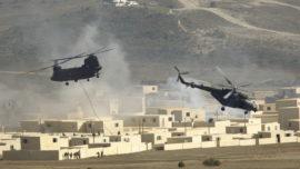 Vídeo: las maniobras de la OTAN en Zaragoza