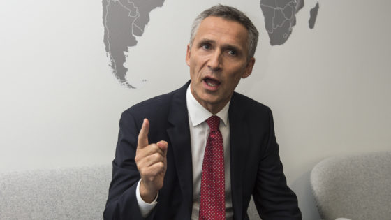 Stoltenberg, secretario general de la OTAN: «Asistimos a un cambio en la seguridad global»