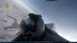 Vídeo: los Eurofighter del Ejército en patrulla «scramble» sobre el Báltico