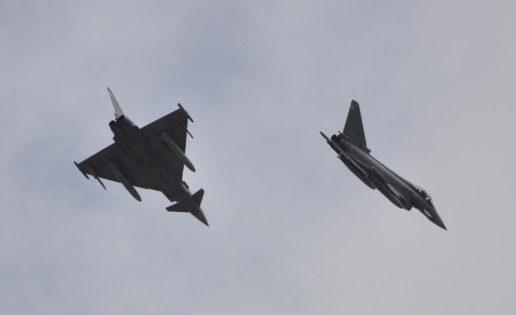 El Ejército del Aire y la OTAN entrenan la defensa aérea de Canarias
