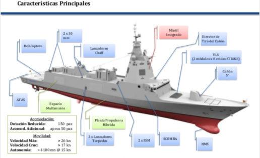 Nuevo hito de las fragatas F-110: progresos en el sistema de combate SCOMBA