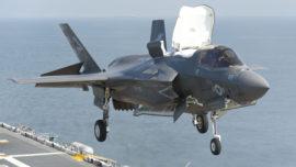 La Armada Española comienza a pensar en el caza F-35
