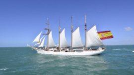 El buque Juan Sebastián de Elcano modifica su vuelta al mundo por el coronavirus
