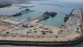 La Base Naval de Rota, a vista de helicóptero