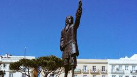 Rendir tributo a Don Blas de Lezo en la ciudad de Cádiz