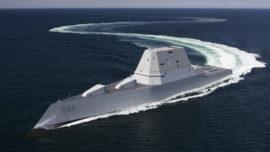 La US Navy recibe el revolucionario destructor Zumwalt