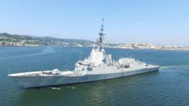 La fragata Colón probará en julio su defensa antimisil en EE.UU.