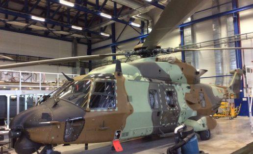 El Gobierno aprueba el segundo lote del helicóptero NH-90