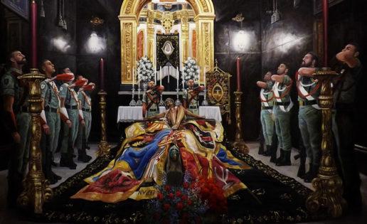 Clauzel, el pintor de la guardia legionaria al Cristo de la Buena Muerte