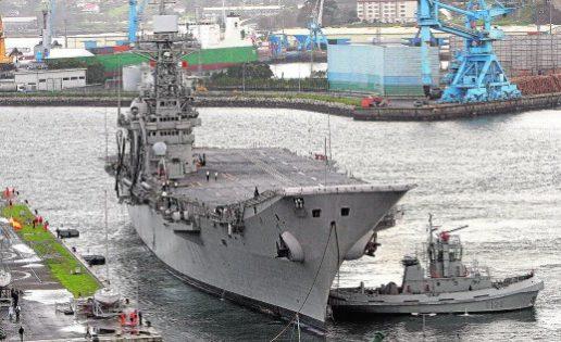 20 días de remolque: el «Príncipe de Asturias» zarpará el miércoles de Ferrol para su desguace en Turquía