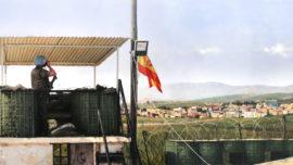 «Lejos de casa», el nuevo cuadro de Ferrer-Dalmau sobre el Líbano