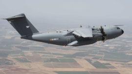 Un A400M del Ejército del Aire despega este sábado rumbo a China a por material sanitario