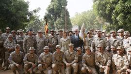 Cospedal: «La seguridad de Malí es muy importante para España»