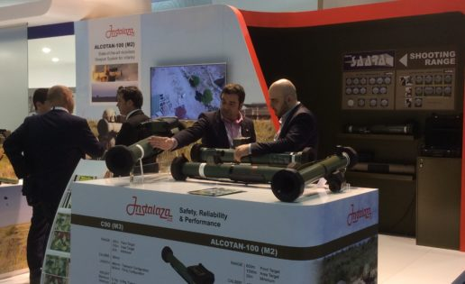 Instalaza presentó en Abu Dabi sus armas anti-Daesh